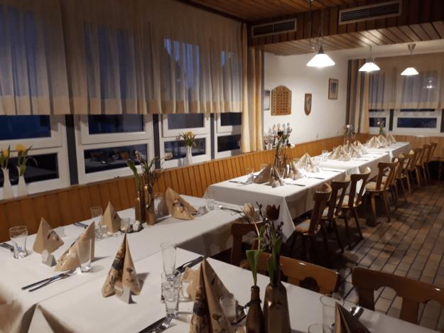 Einrichtung Gastwirtschaft