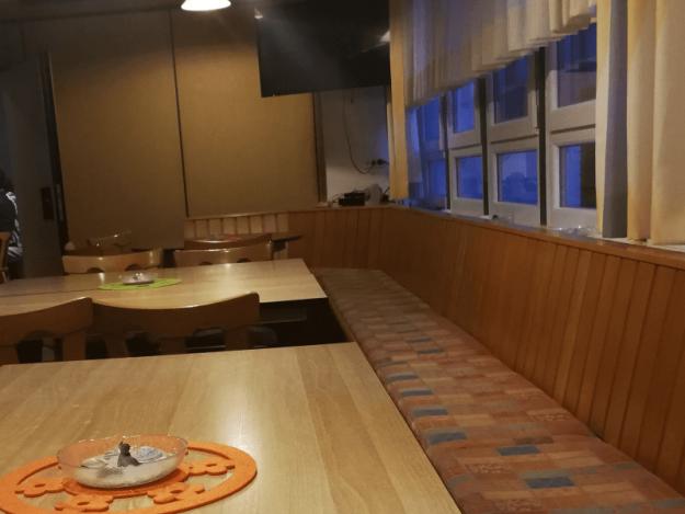 Sitzbank Gastraum